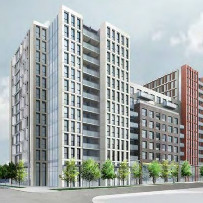 East Hastings and Clark Onni development rendering