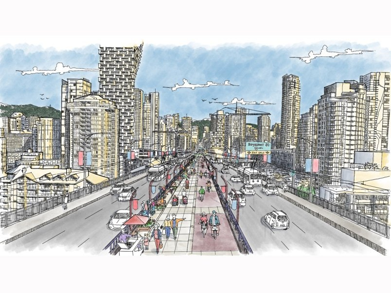 Consultation now on for cycling, pedestrian walkway on Granville Street Bridge