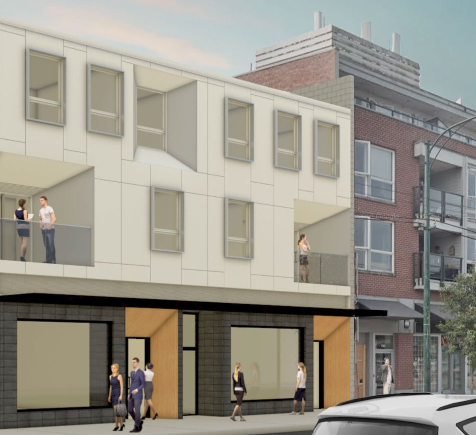 New building planned near site of Kitsilano fire