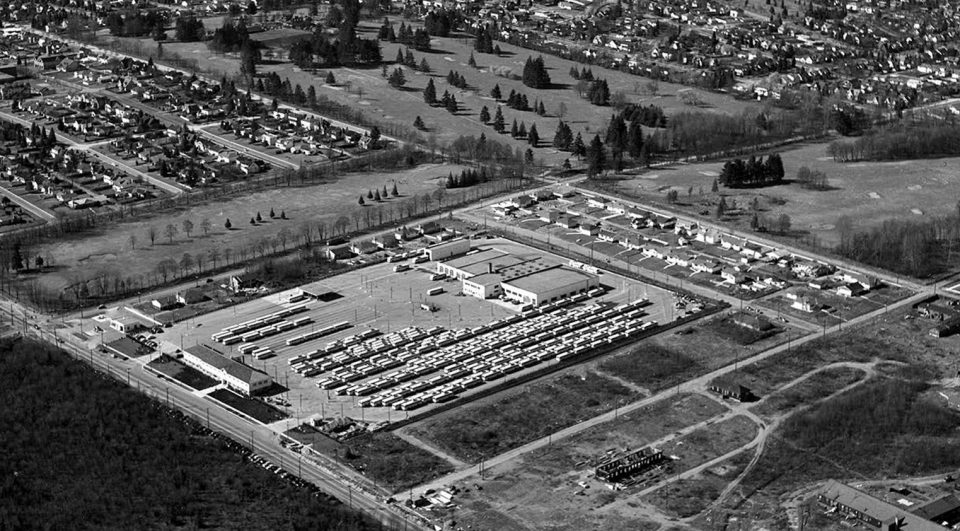 Oakridge Transit Centre historic photo