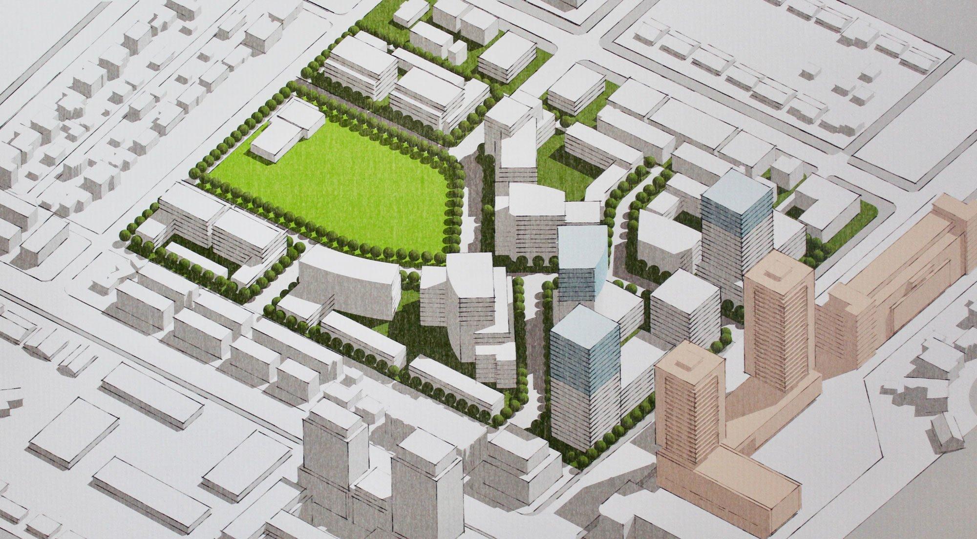 Oakridge Transit Centre plans unveiled at open house