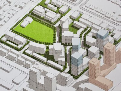 Oakridge Transit Centre concept