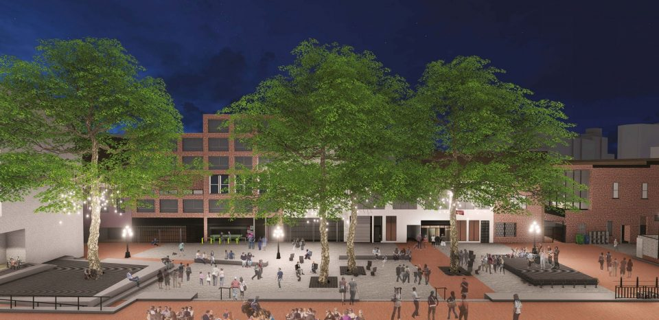 Design concept for Blood Alley Square redesign revealed