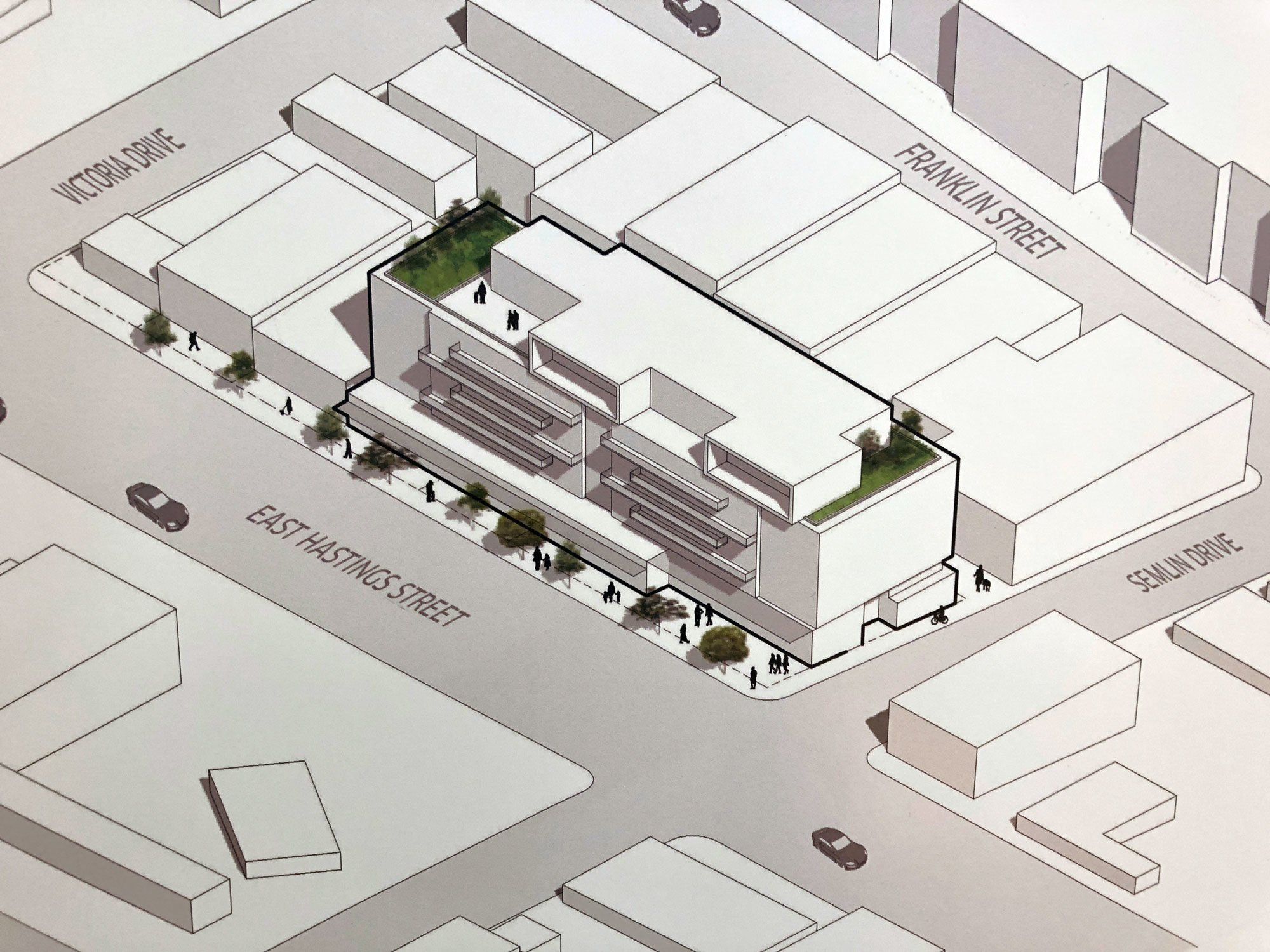 Reliance Properties to remake East Hastings corner near Xpey Elementary