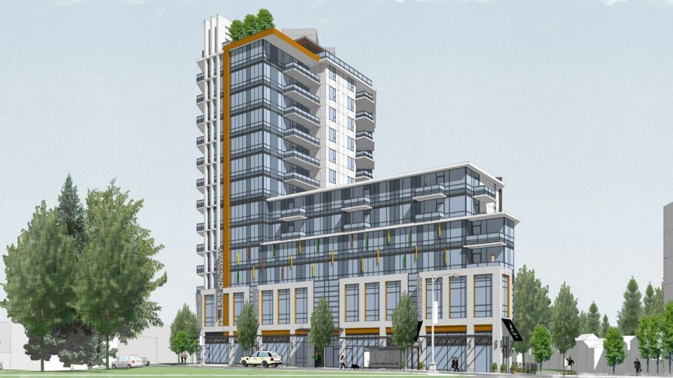 13-storey apartment tower slated for Kingsway RONA site