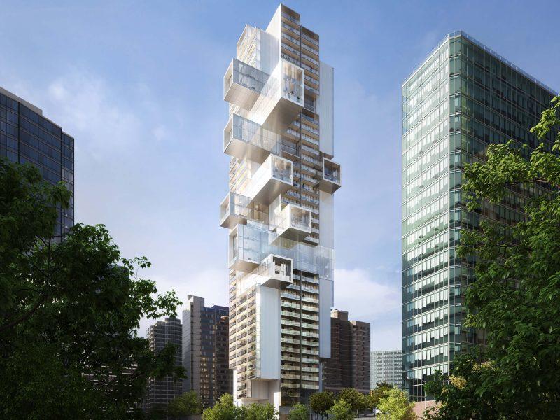 Tower rendering West Georgia Street