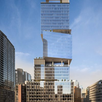 The Stack office tower rendering