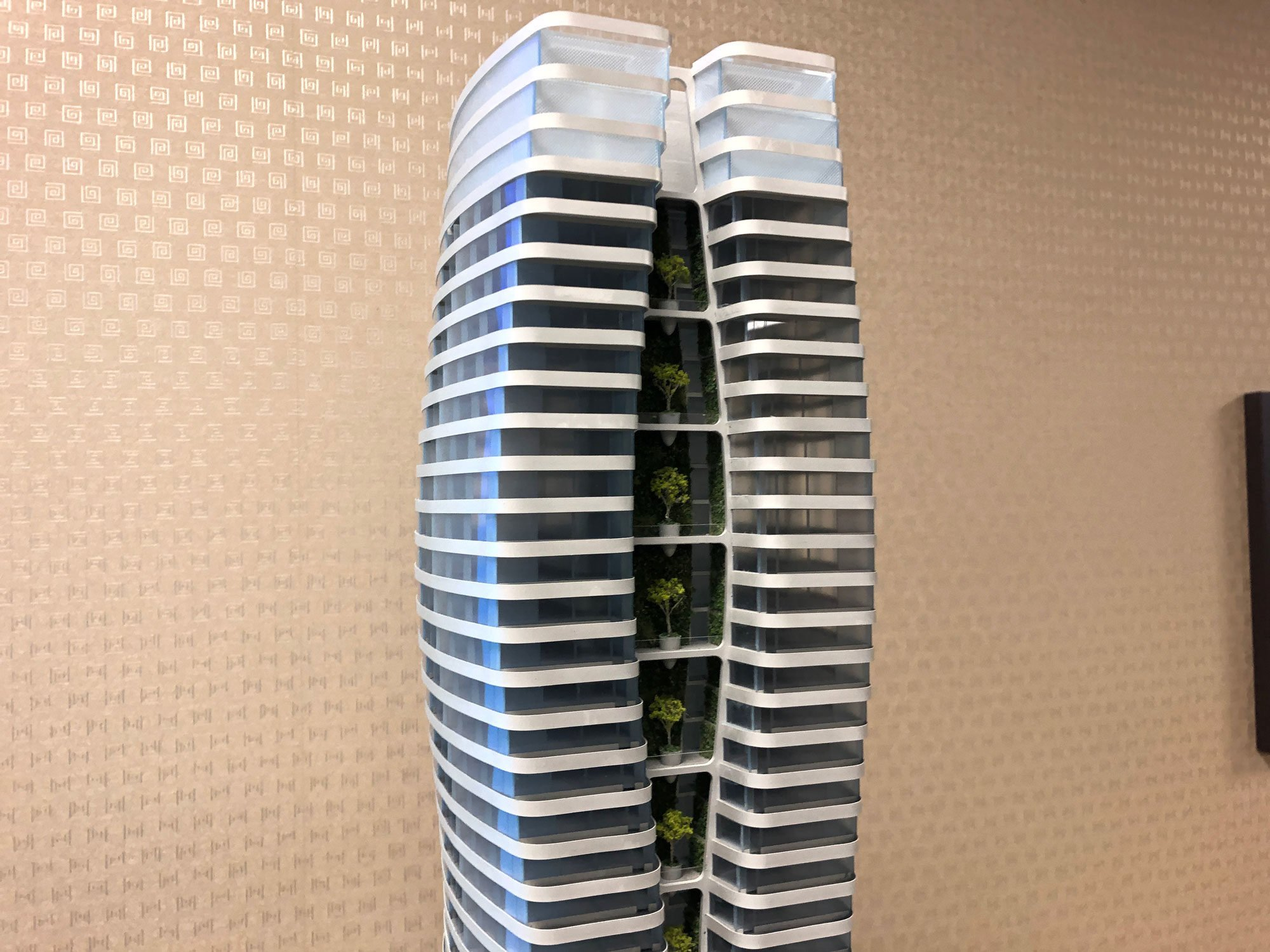 Landmark 60-storey passive house tower next to Nelson Park
