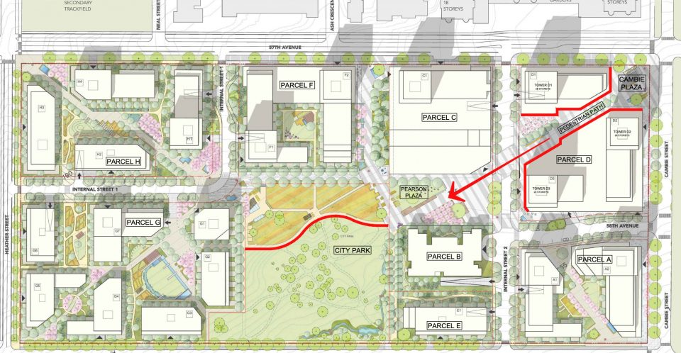 Cambie Gardens map