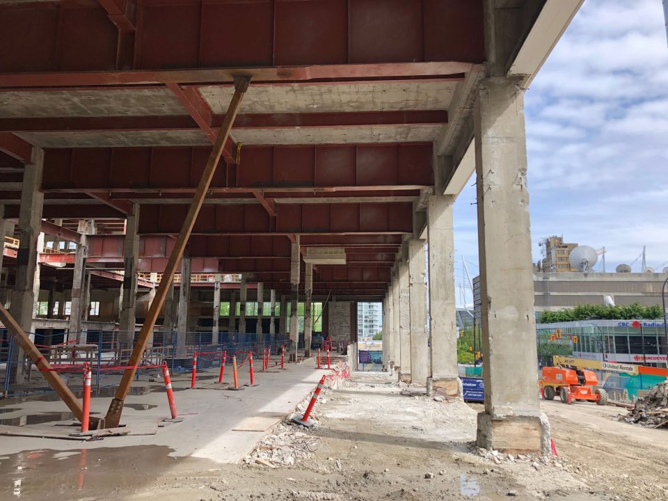 Post Office construction progress June 2019
