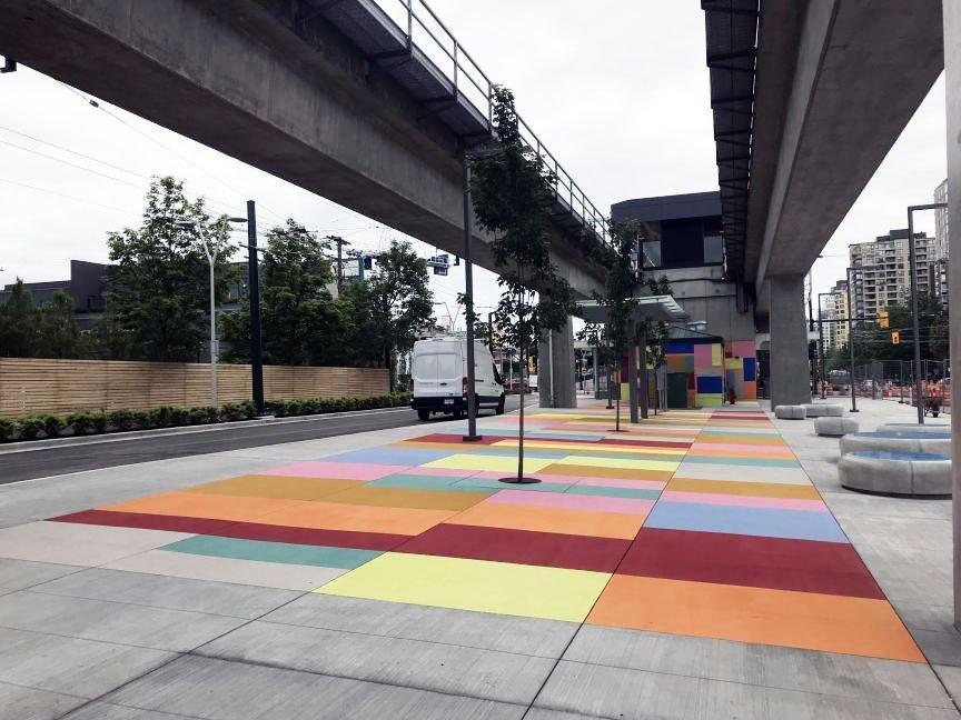 SkyTrain public art