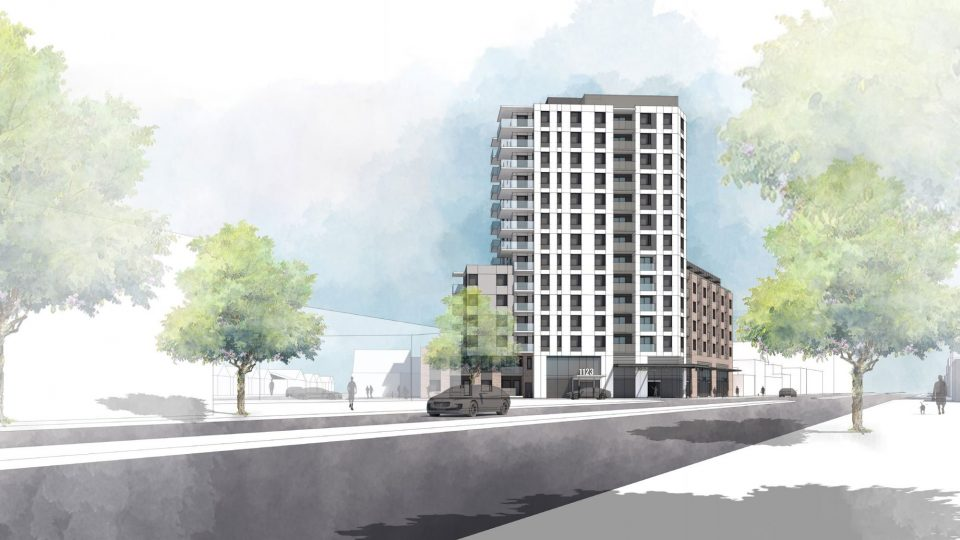 13-storey rental tower slated for Kingsway and Glen Drive