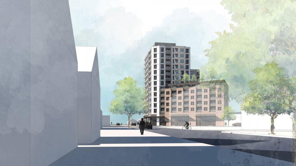 1111-1123 Kingsway rendering