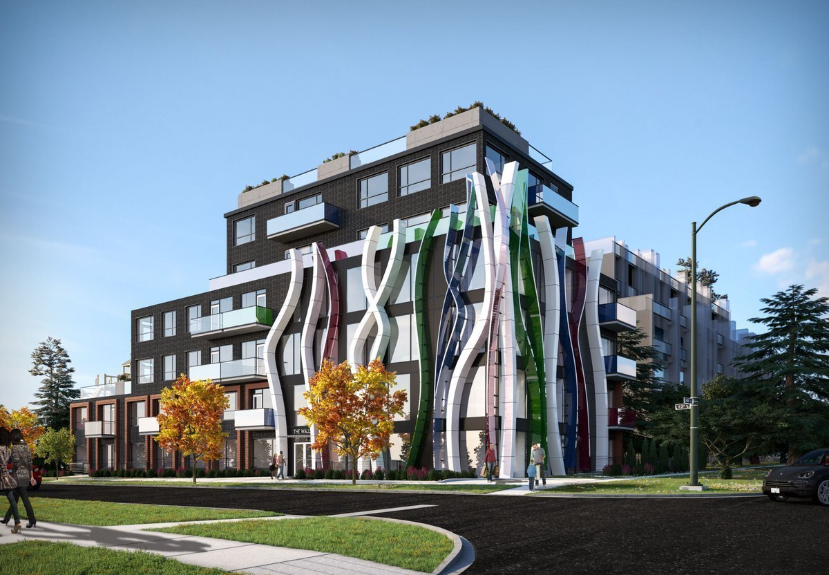 Twenty-nine homes for Cambie Street in building inspired by the monarch