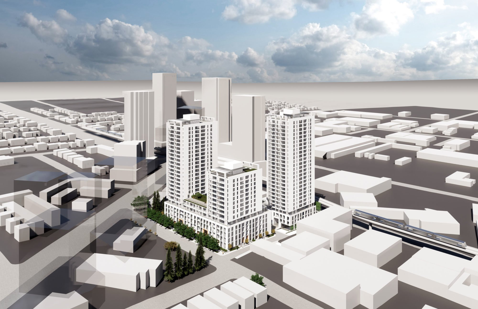 Nearly 600 rental and co-op units slated for SW Marine Drive and Cambie