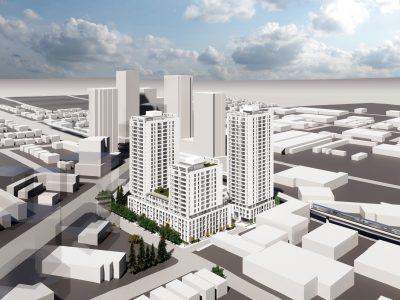 Rendering Ashley Mar Housing Co-Op