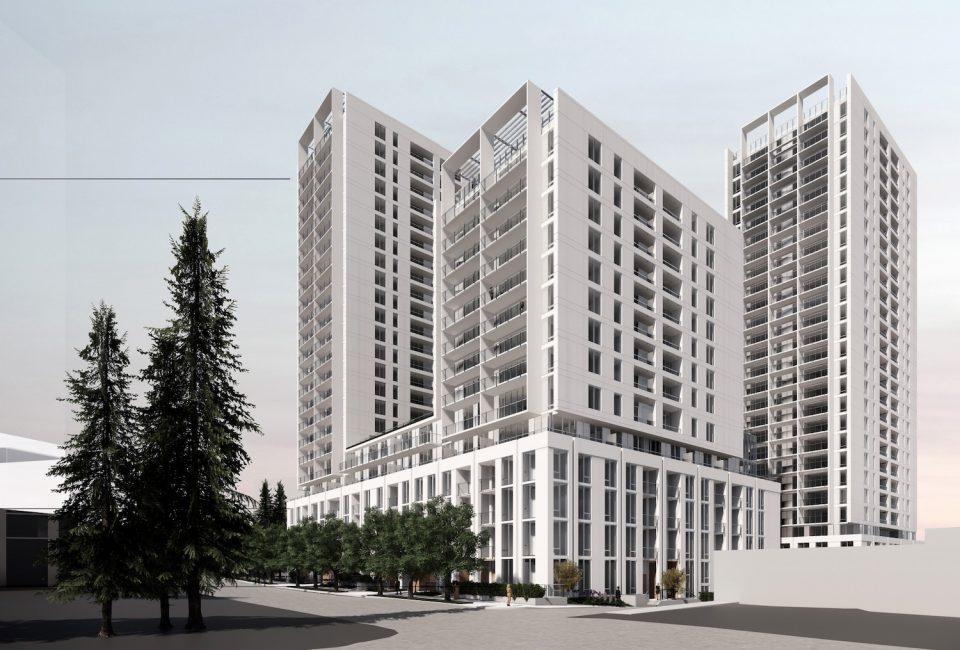 Redevelopment rendering