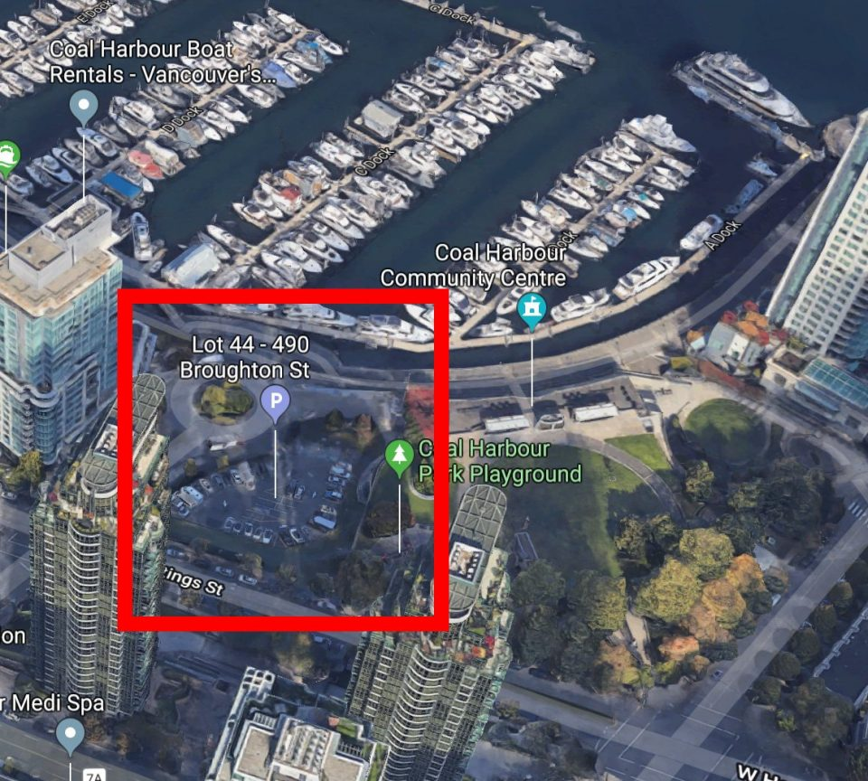 Coal Harbour elementary school location