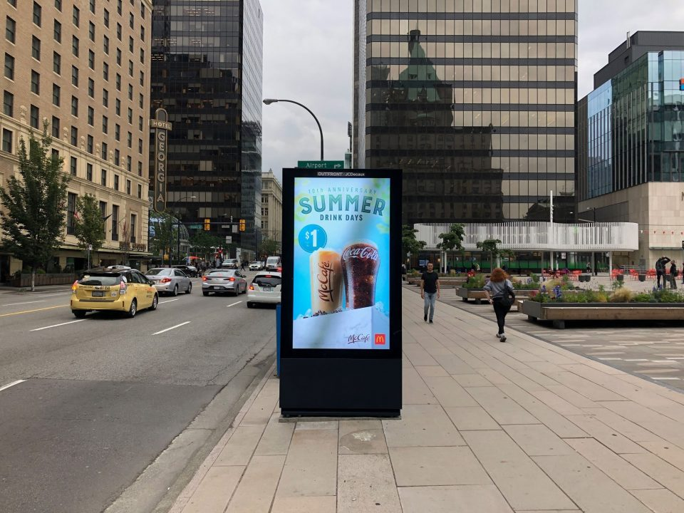 New digital signs popping up across downtown Vancouver, with more on the way