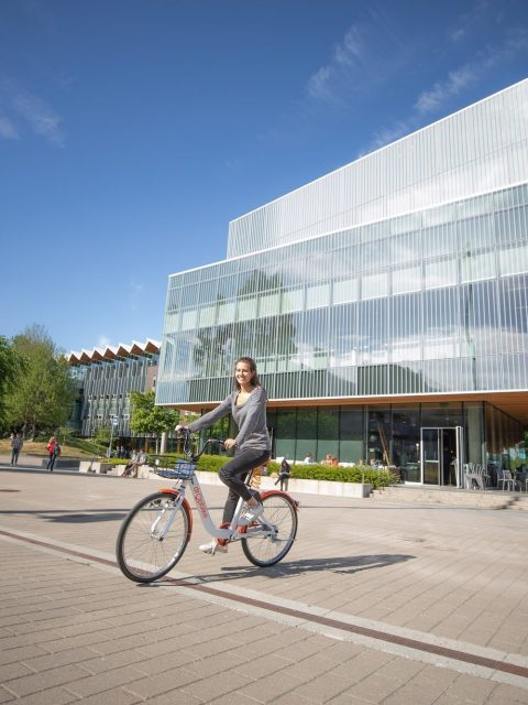 Bike share UBC