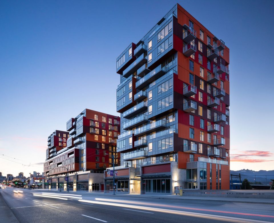PHOTOS: Colourful Strathcona Village inspired by the Port of Vancouver