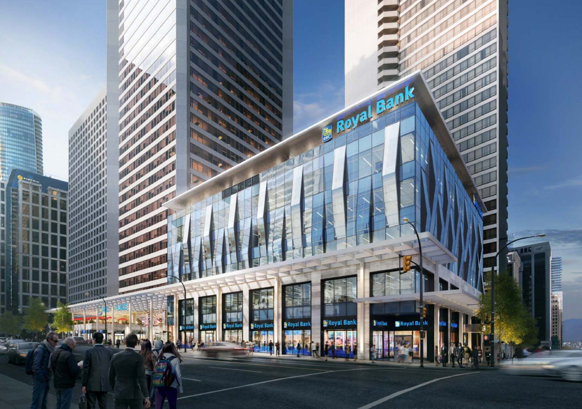 Facelift on the way for aging Royal Centre at West Georgia & Burrard