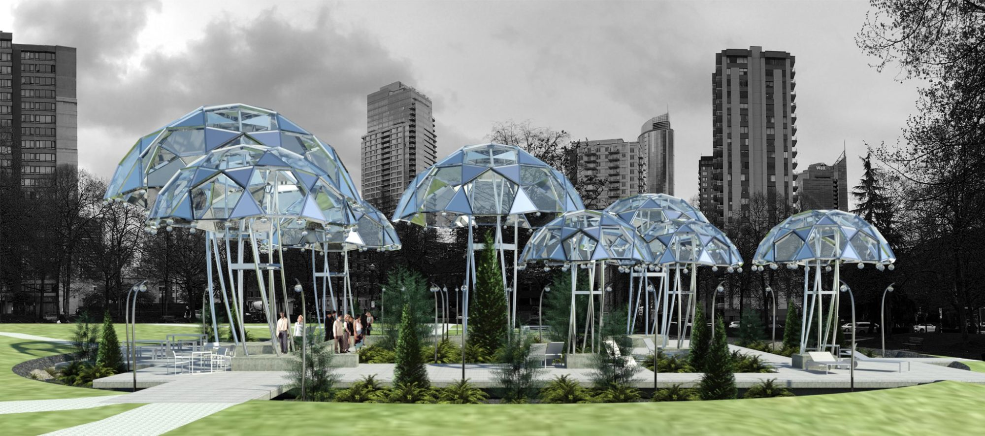 Life Between Umbrellas competition offers shelter from Raincouver
