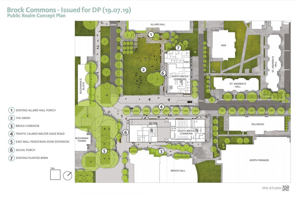Public realm concept plan
