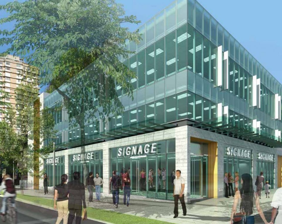 Three-storey retail and office building slated for Denman Village