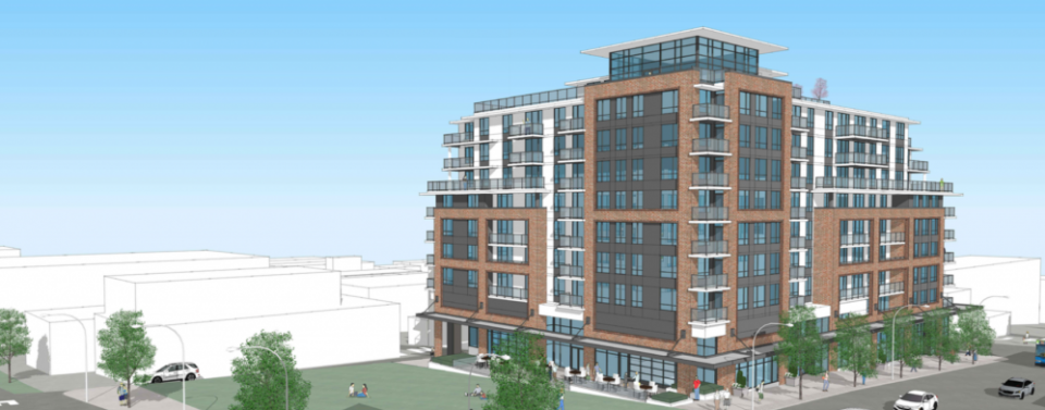 Construction underway on affordable rentals in Mount Pleasant