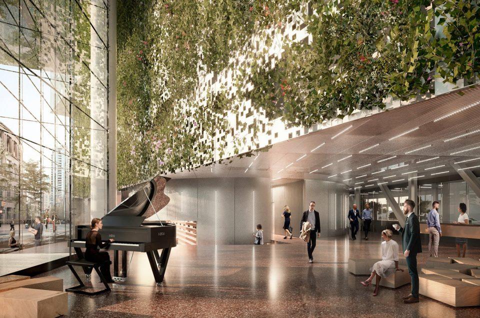 400 West Georgia rendering lobby