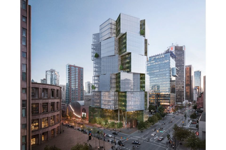 400 West Georgia rendering tower