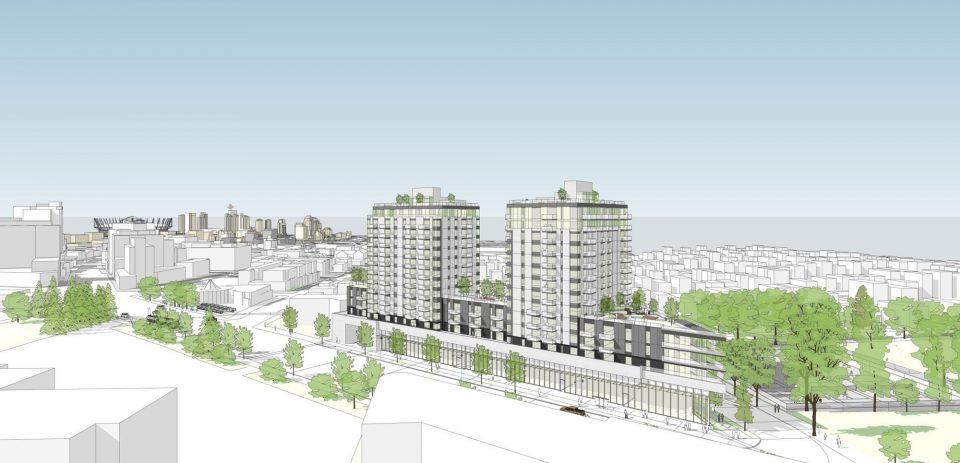Major rental project on Kingsway dealership site approved
