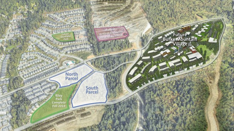 Burke Mountain Village rendering