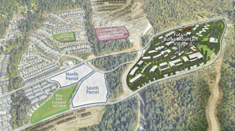 Burke Mountain Village rendering