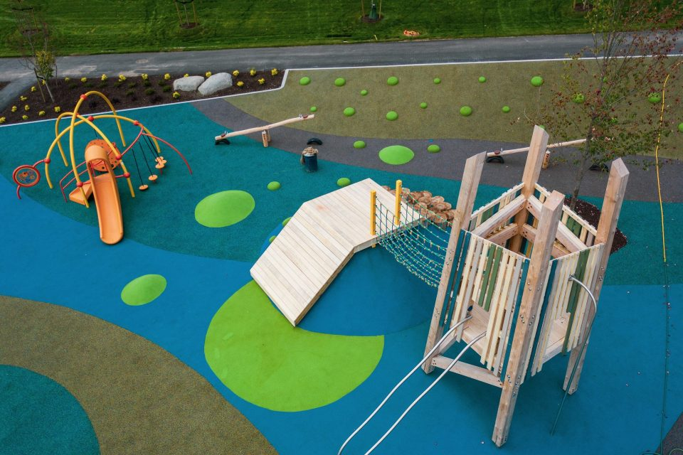 Riley Park play structure