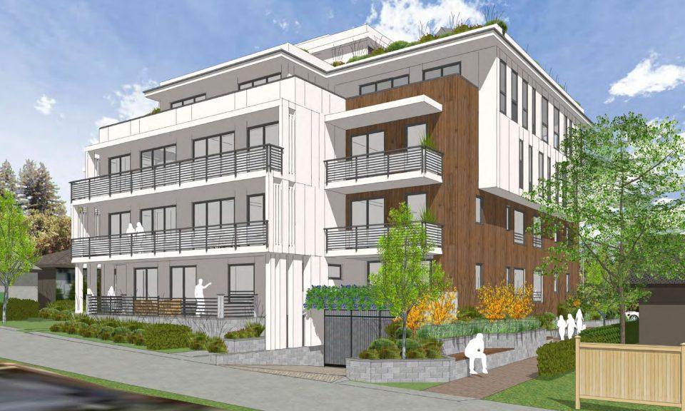 564-570 West 49th Avenue laneway view.