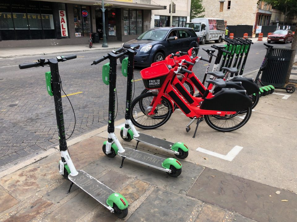 Lime scooters San Antonio