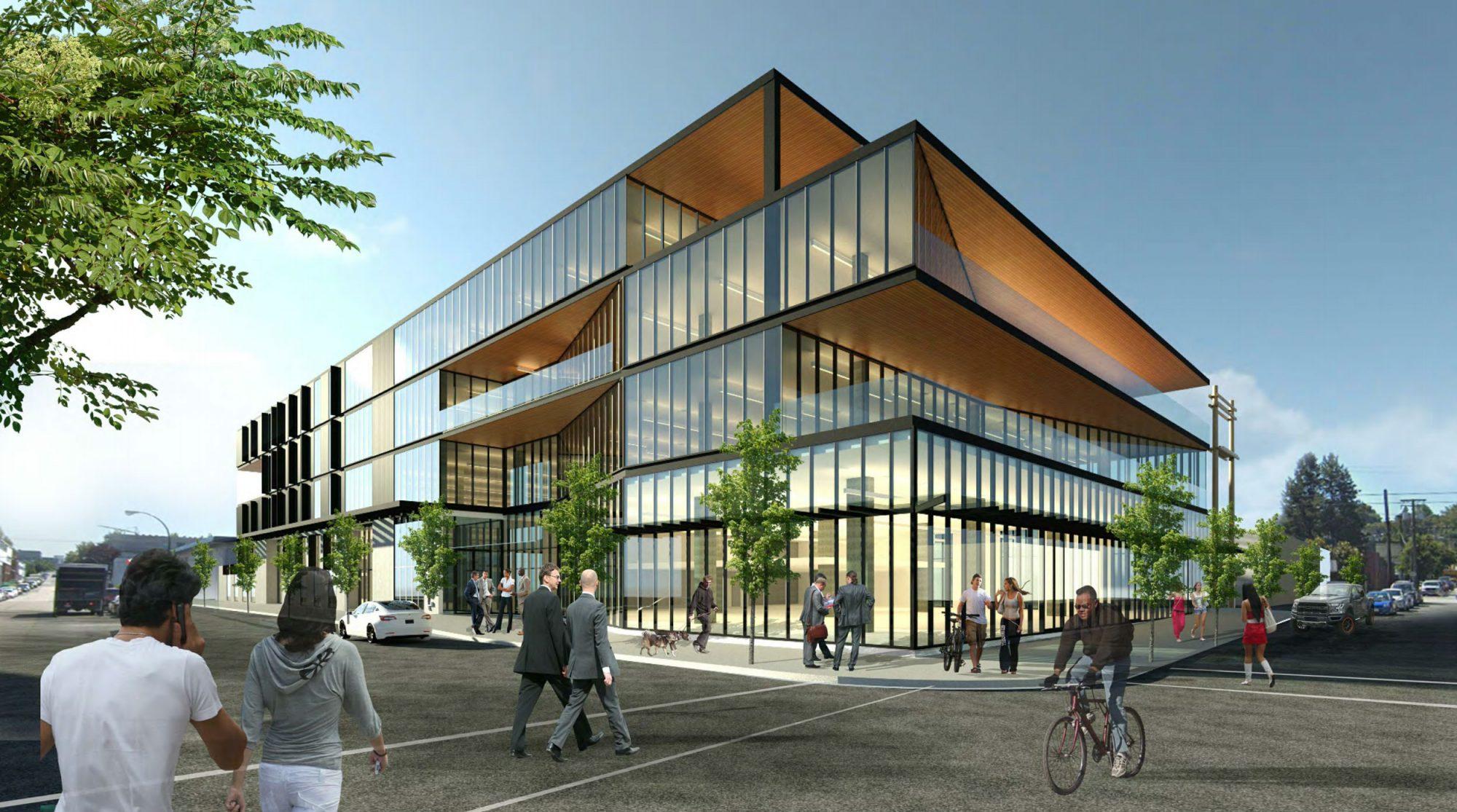 Mount Pleasant light industrial building raises bar on design