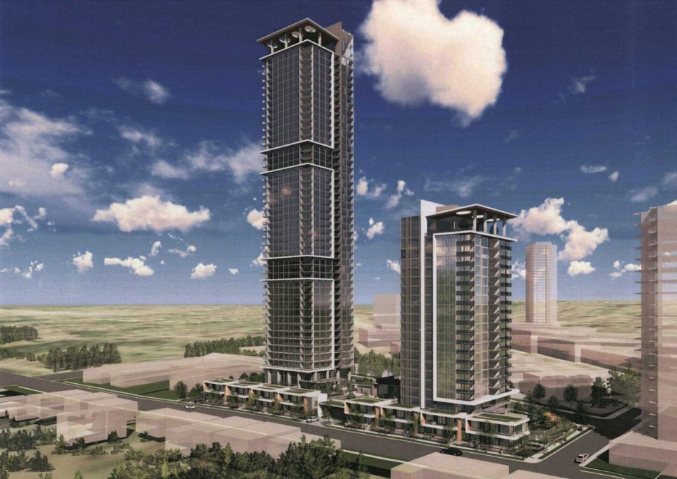 Boffo Developments plans two-tower development on North Road in Coquitlam