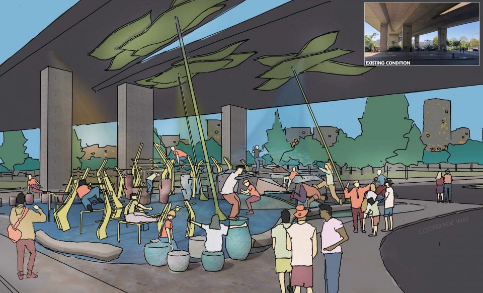 Coopers Park concept - day