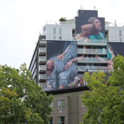 Fintan Magee Vancouver mural