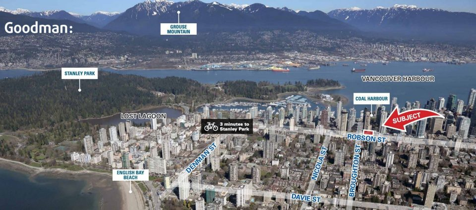 Greenbrier Hotel on Robson Street up for sale