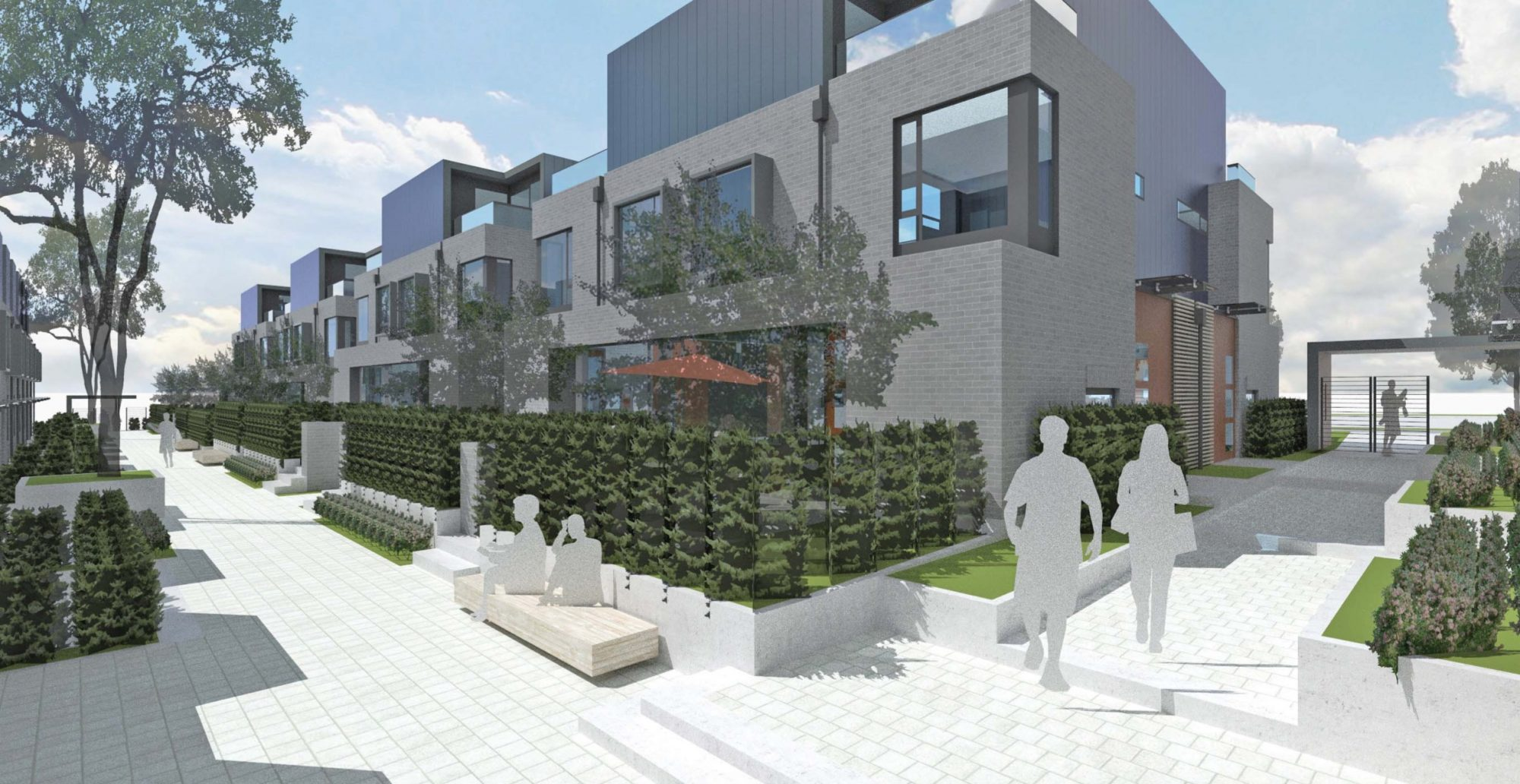 Row homes planned for Oak Street and West 52nd