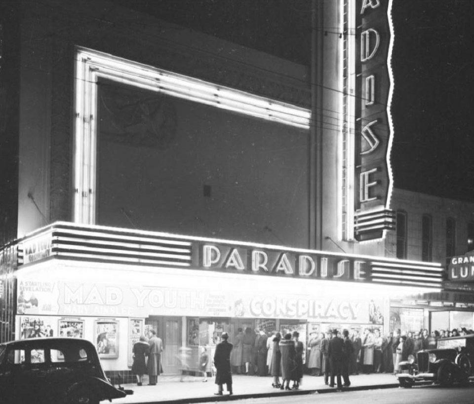 Paradise Theatre 1939