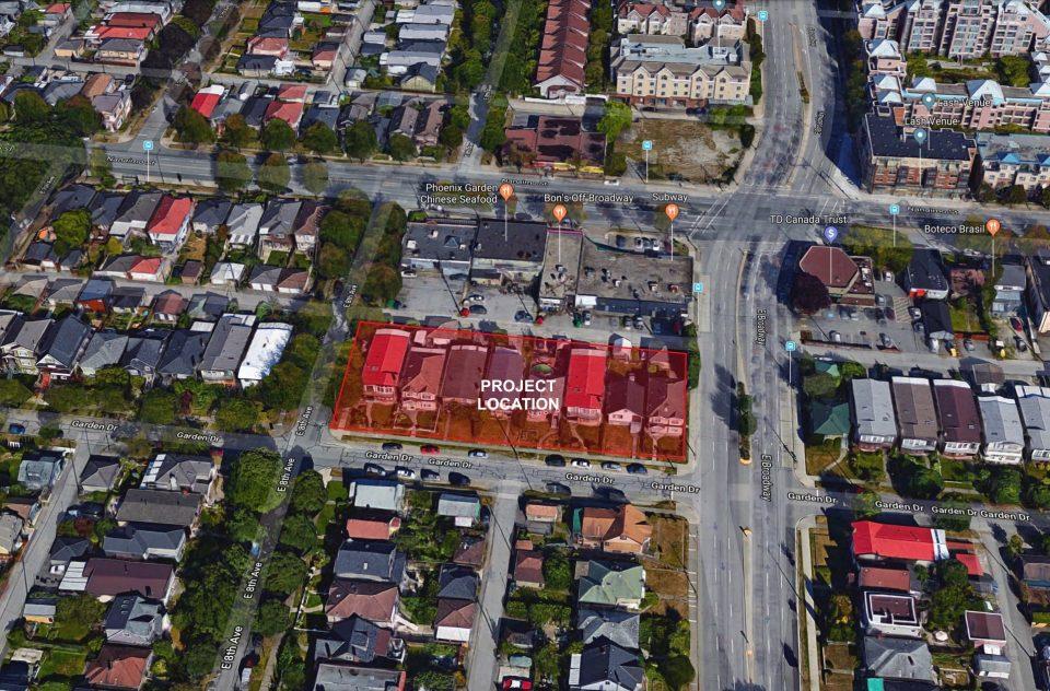 Porte Homes Garden Drive location