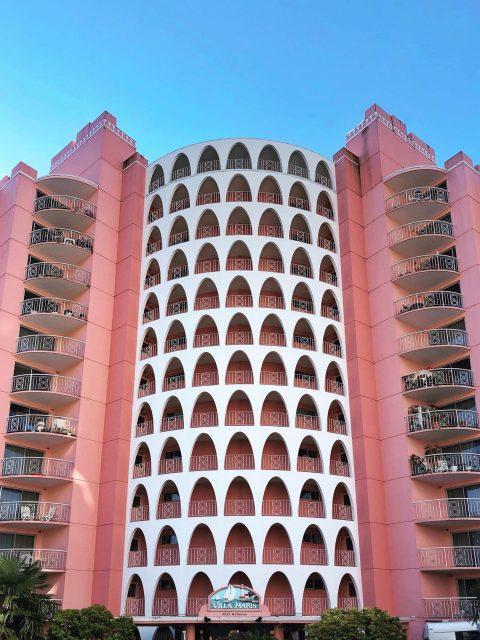 Pink Palace demolition
