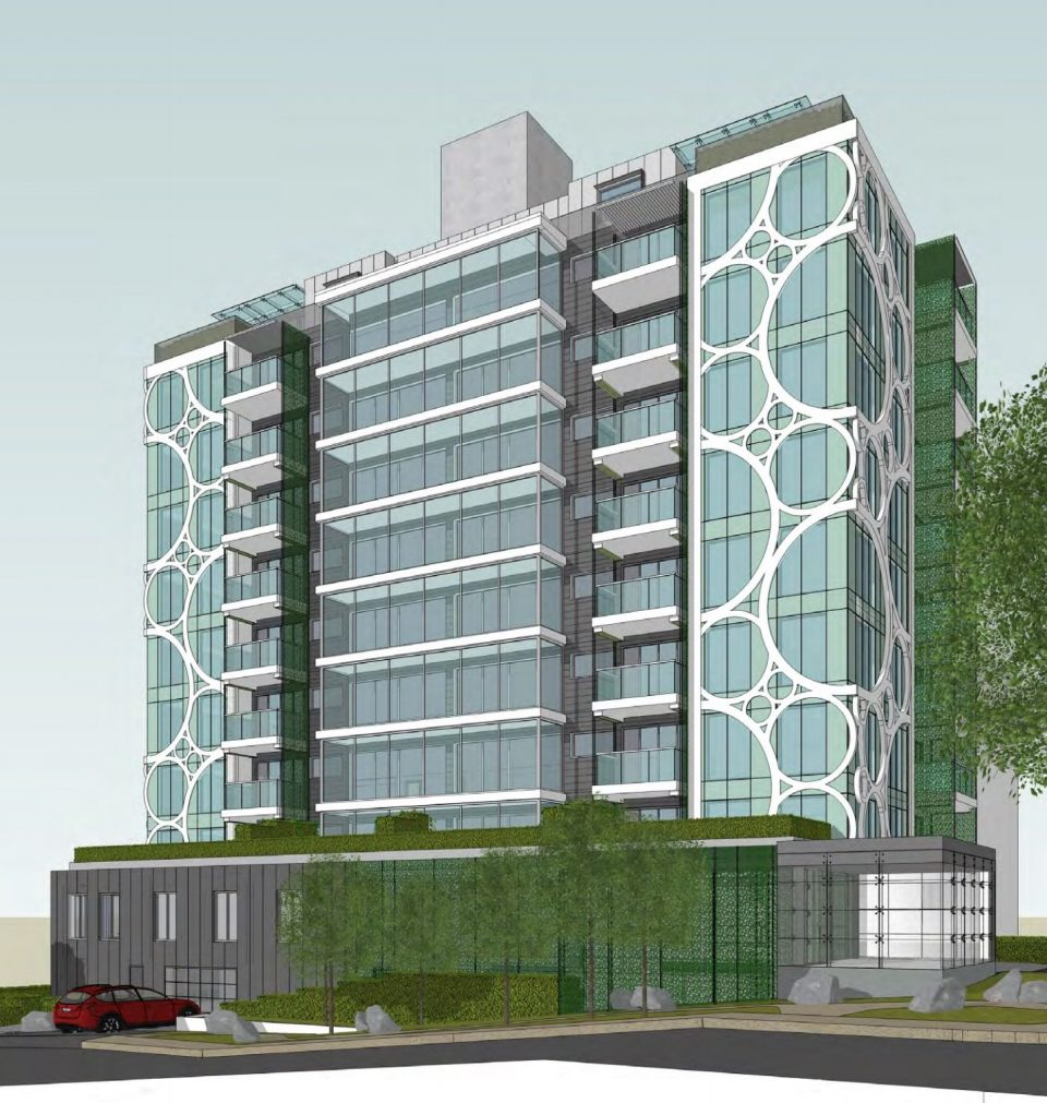 Major renovation planned for Beach Ave. apartment tower