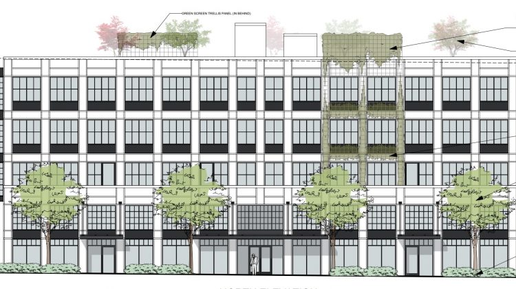 234 West 3rd Avenue north elevation