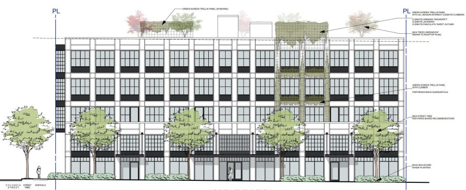 Handsome light industrial building proposed for Mount Pleasant